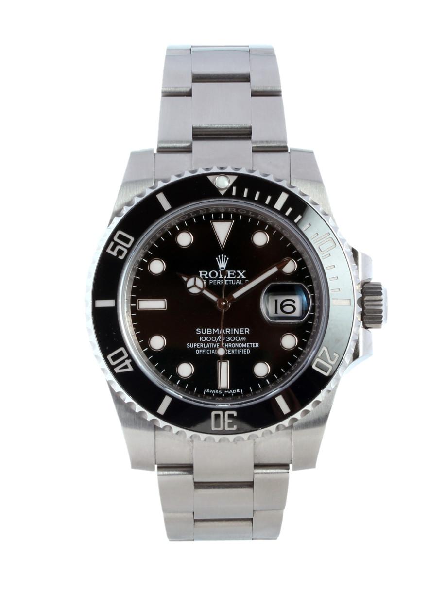 116610LN Rolex Submariner Black/Steel Ø40 mm USED Price € 7.500
