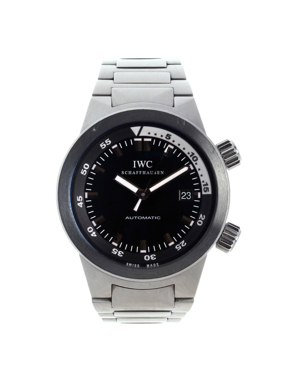 3548 IWC Aquatimer Black Steel ˜42 mm USED Price € 2 470